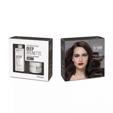 Framesi Morphosis Deep Brunette Set - Šampón + Maska na hnedé vlasy