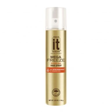 "Freeze It 24 Hour Hair Spray 60ml - Extrémne tužiaci lak na vlasy ""zmrazovač"""