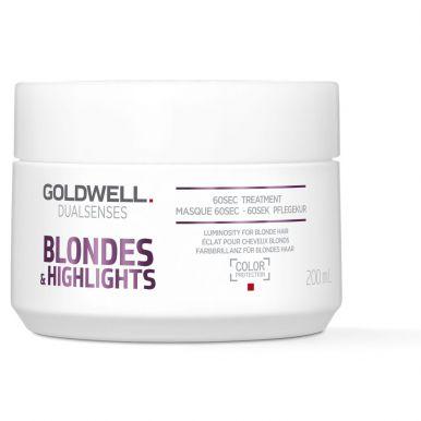 Goldwell Dualsenses Blondes & Highlights 60sec Treatment 200ml - Maska na blond vlasy