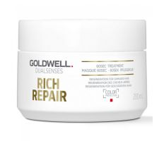 Goldwell Dualsenses Rich Repair 60sec Treatment 200ml - Maska na poškodený vlas