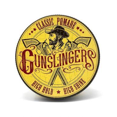 Gunslingers Classic Pomade 75ml - Pomáda na vlasy s vysokým leskom a silnou fixáciou