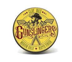 Gunslingers Clay Wax 75ml - Hlína na vlasy s matným efektem