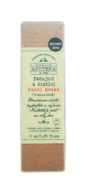 Havlíkova Apotéka - Ošetrujúca ranná maska 50ml