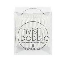 InvisiBobble - Gumička do vlasů perlově bílá 3ks