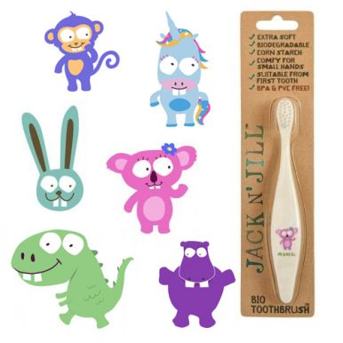 Jack n' Jill Bio Toothbrush - Detská zubná kefka
