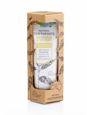 Jack n' Jill Natural Toothpaste Propolis & Myrrh 110g - Prírodná pasta pre zápal ďasien