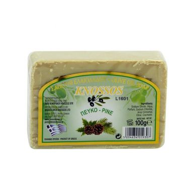 Knossos Olivové mýdlo - borovice 100g