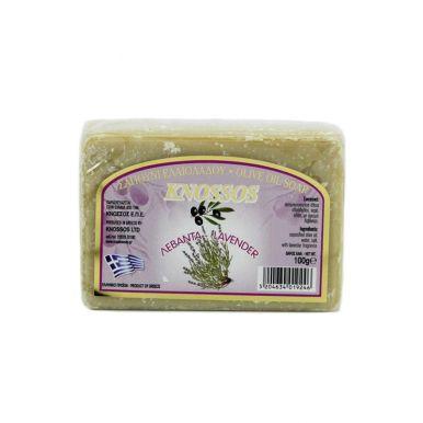 Knossos Olivové mýdlo - levandule 100g