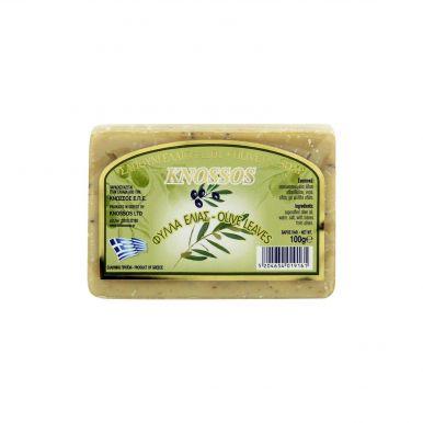 Knossos Olivové mýdlo - olivové listy 100g