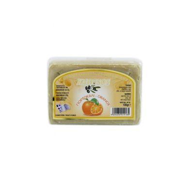 Knossos Olivové mýdlo - pomeranč 100g
