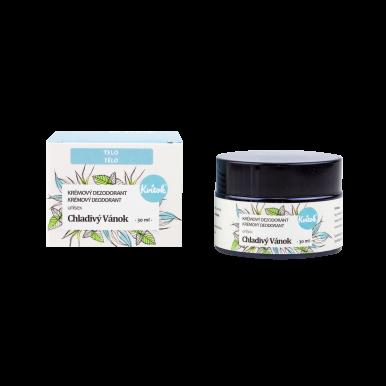 Kvítok Krémový Dezodorant Unisex 30ml - Chladivý vánok