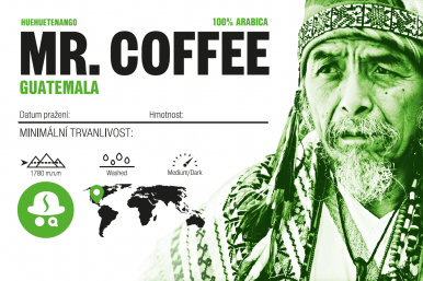 Mr. Coffee Guatemala SHB Huehuetenango 1000g