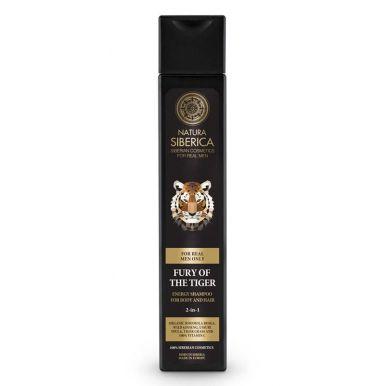 Natura Siberica - Pánsky energetizujúci šampón pre telo a vlasy Zúrivosť tigra 250ml