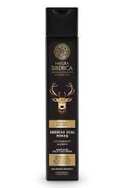 Natura Siberica - Pánsky šampón proti lupinám Sibírsky jeleň 250ml