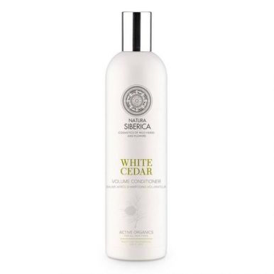 Natura Siberica White Cedar Volume Conditioner 400ml - Objemový kondicionér