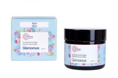 Kvítok Šľahaný Telový Krém Senses 60ml - Glamorous