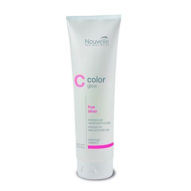 Nouvelle Color Glow True Silver Shampoo 200ml - Šampón na blond vlasy