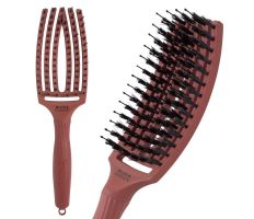 Olivia Garden Fingerbrush Blush Chocolate - Profesionálna kefa na vlasy