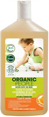 Organic People Tiled Floors Cleaning Eco Gel 500ml - Eko gél na čistenie dlažby