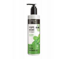 Organic Shop Active Shower Gel Mint & Lemongrass 280ml - Svěží sprchový gel