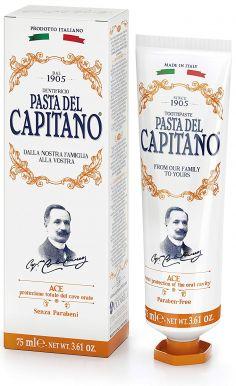 Pasta del Capitano Ace 75ml - Prémiová zubná pasta s vitamínmi A, C a E