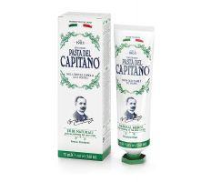Pasta del Capitano Natural Herbs 75ml - Prémiová zubní pasta s výtažky bylin
