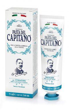 Pasta del Capitano Smokers 75ml - Prémiová zubná pasta pre fajčiarov
