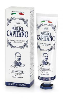 Pasta del Capitano Whitening 75ml - Prémiová zubná pasta s bieliacim účinkom