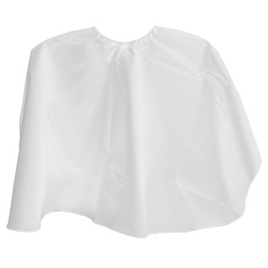 Pláštenka česacia krátka - biela