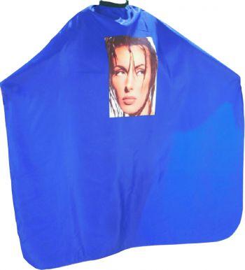 Pláštenka strihacia Foto - modrá
