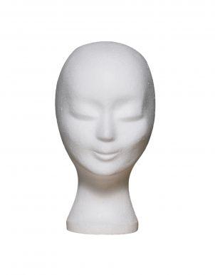 Polystyrénová hlava na parochne