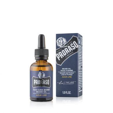 Proraso Azur Lime Beard Oil 30ml - Olej na fúzy