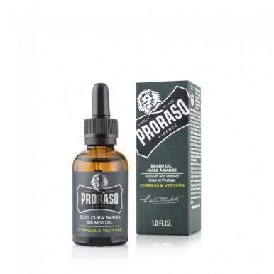 Proraso Cypress & Vetyver Beard Oil 30ml - Olej na bradu