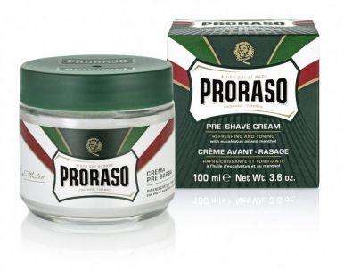 Proraso Green Pre-Shaving Cream 100ml - Krém pred a po holení