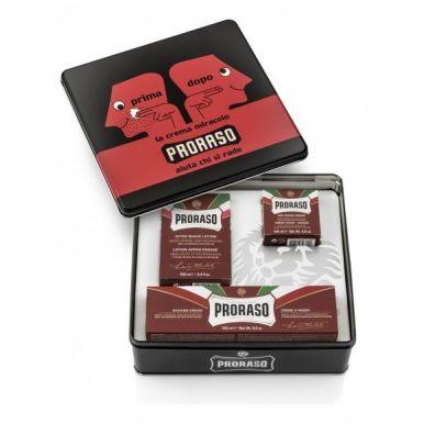 Proraso Red Kit - Sada na holenie