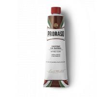 Proraso Red Shaving Cream 150ml - Krém na holenie na tvrdé fúzy