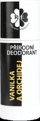 RaE Prírodný tuhý dezodorant - Vanilka a orchidea 25ml exp 04/21