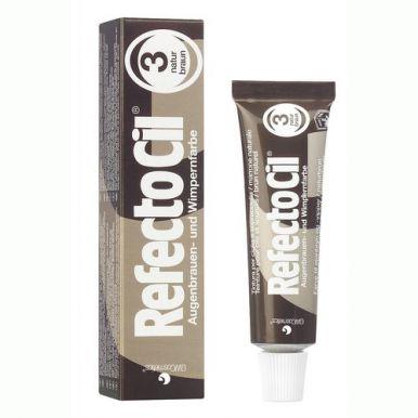 RefectoCil Farba na mihalnice a obočie č.3 hnedá 15ml