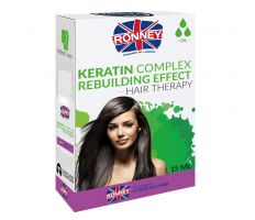 Ronney Professional Hair Oil Keratin Complex Rebuilding Effect