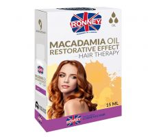 Ronney Professional Hair Oil Macadamia Oil Restorative Effect