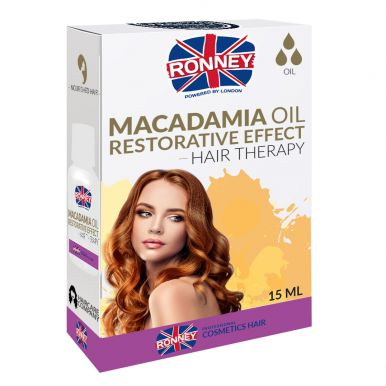 Ronney Professional Hair Oil Macadamia Oil Restorative Effect