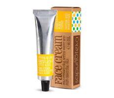 Sapunoteka Face Cream Normal & Sensitive 40ml - Denný krém na norm.a citl. pleť exp 03/21