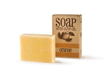 Sapunoteka Soap Orange 75g - Pomerančové mydlo s kurkumou