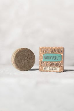 Sapunoteka Solid Shampoo Anti Dandruff 60g - Tuhý šampón proti lupům