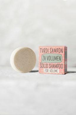 Sapunoteka Solid Shampoo For Volume 60g - Tuhý šampón na objem