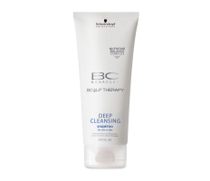 Schwarzkopf BC Deep Cleasing Shampoo 200ml - Šampon pro hloubkové čistění