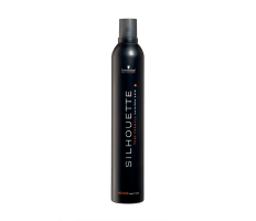 Schwarzkopf Silhouette Super Hold Mousse 500ml - Silne tužiace penové tužidlo