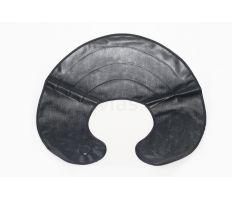 Strihacie golier plastový - čierny ovál