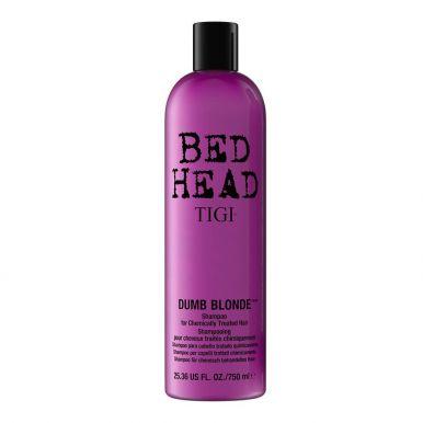 Tigi Bed Head Dumb Blonde Shampoo 750ml - Šampón na chemicky namáhané vlasy
