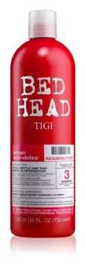 Tigi Bed Head Resurrection Shampoo 750ml - Šampón na poškodený vlas